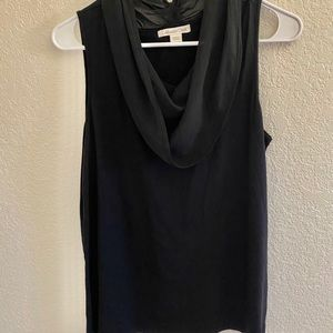 Coldwater Creek stretchy drape neck tank top New